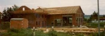 1982: Bau der Werkstatt