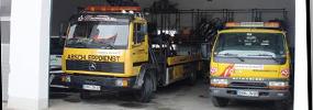 2008:<br>Frühjahr: Bau einer Abschlepphalle incl. Unterstellplätze
